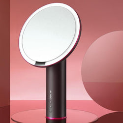 AMIRO 8 inch HD sensor on/off LED sunlight mirror for personal makeup vanity lighting without battery