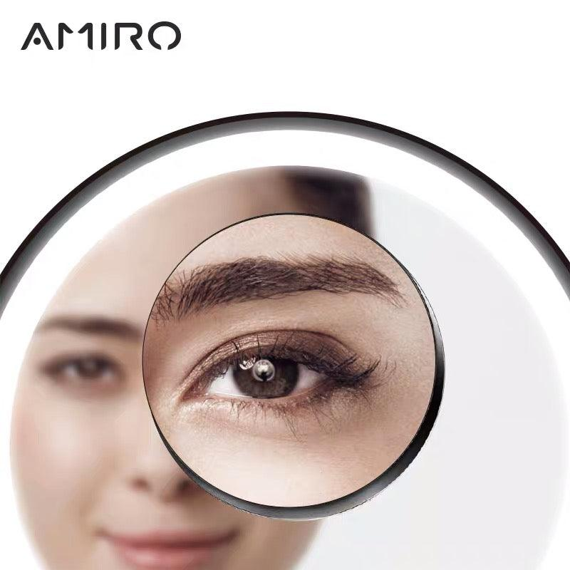 AMIRO 5X magnet magnifying makeup compact mirror not for only sale