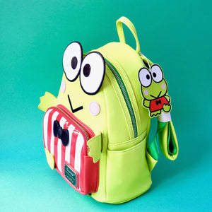 Loungefly Keroppi Mini Backpack side view