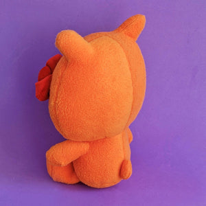 UGLYDOLL x Hello Kitty Wage Plushie (Orange) (back view)