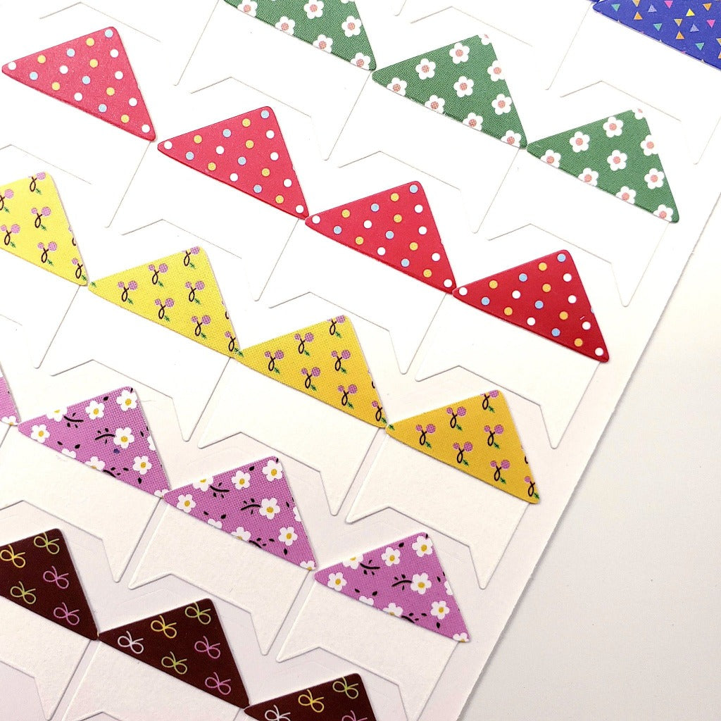 Cute Kawaii Patterned Self-Adhesive Photo Corners