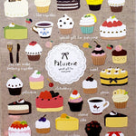 Cute Korean Stickers | Funny Sticker World Patisserie (Coffee & Sweets) Stickers