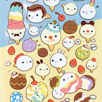 cute korean stickers suatelier ice cream matte stickers