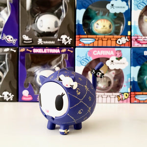 tokidoki collectible til death do us part skeletrina (left view)