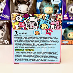 tokidoki vinyl figure cactus friends carina (package back view)