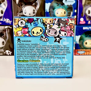 tokidoki vinyl figure cactus friends bruttino (package back view)