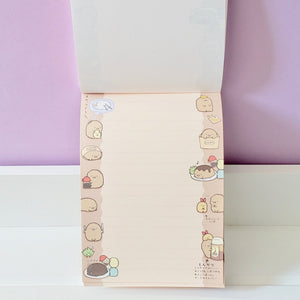 Sumikko Gurashi: Notepad (Four Character Striped Cover)