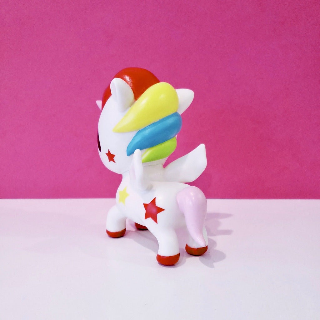 kawaii tokidoki collectible stellina unicorno 5 inches back view