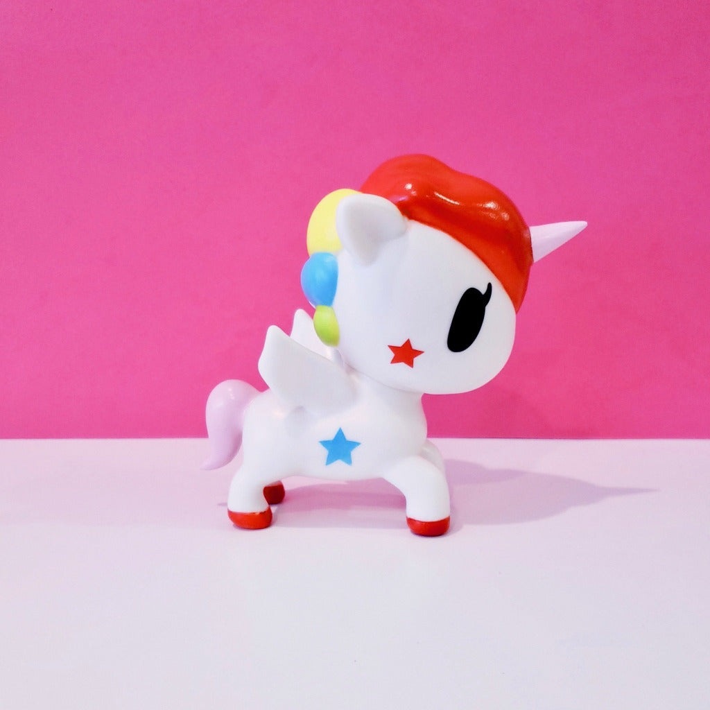 kawaii tokidoki collectible stellina unicorno 5 inches side view