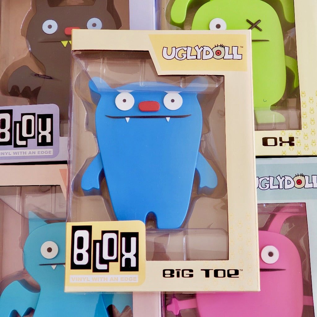 Funko Blox Uglydoll Big Toe #12 Collectible Vinyl front view