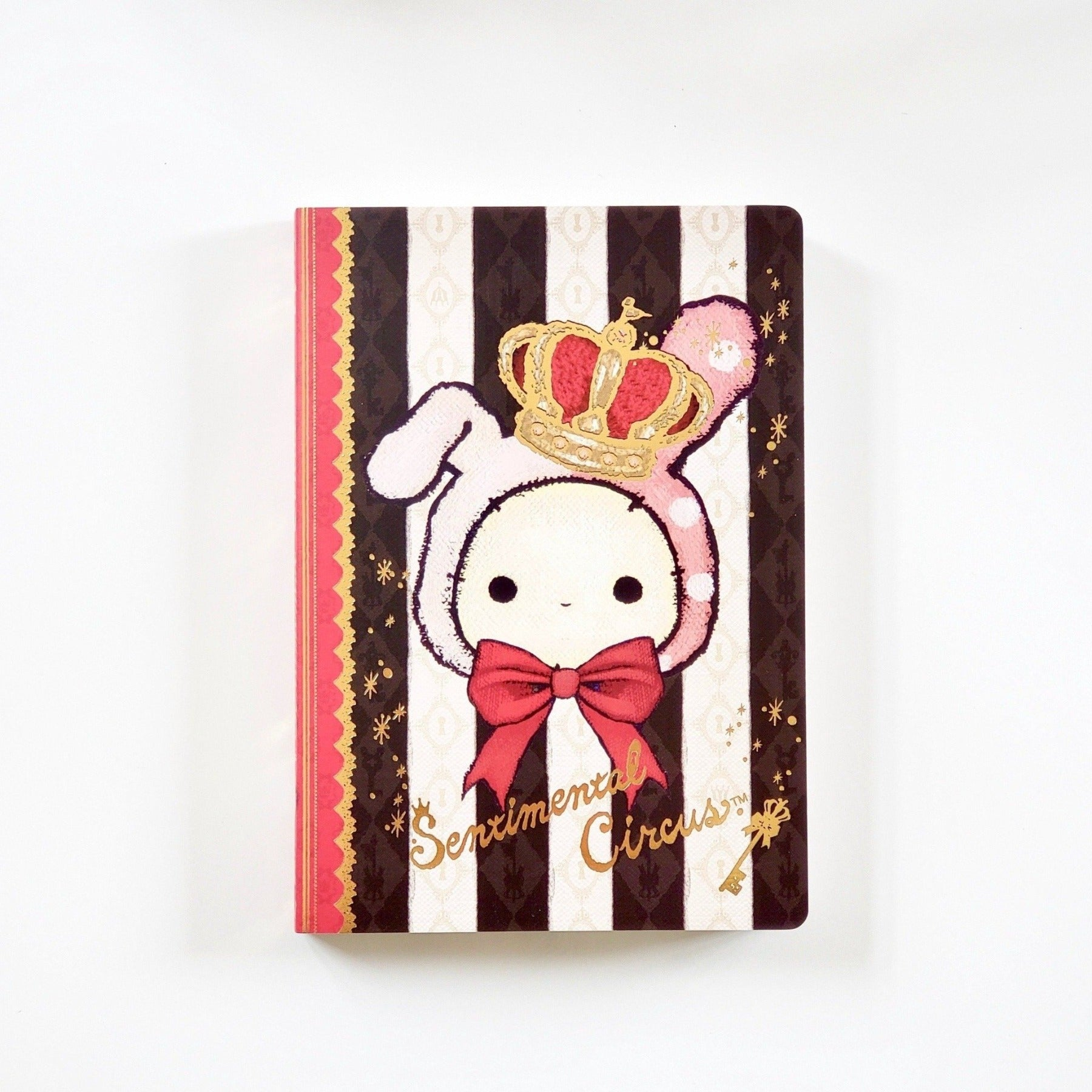 Kawaii Japanese Stationery San-X Sentimental Circus Crown & Ribbon Memo Pad