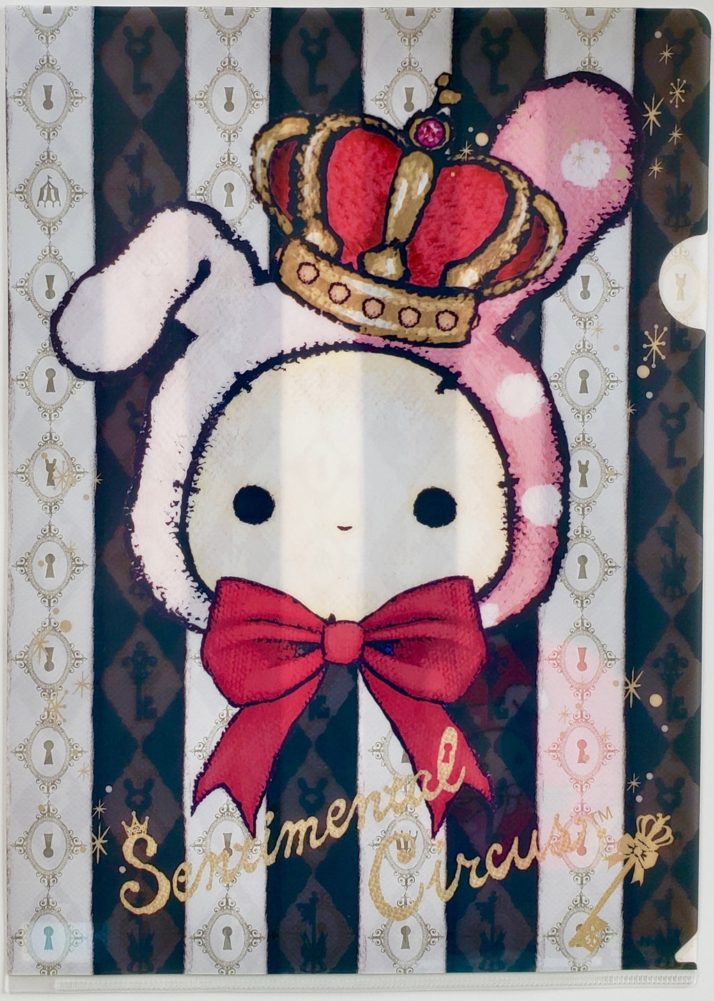 Sentimental Circus: Secret Anniversary A4 Plastic File Folder (Crown & Ribbon)