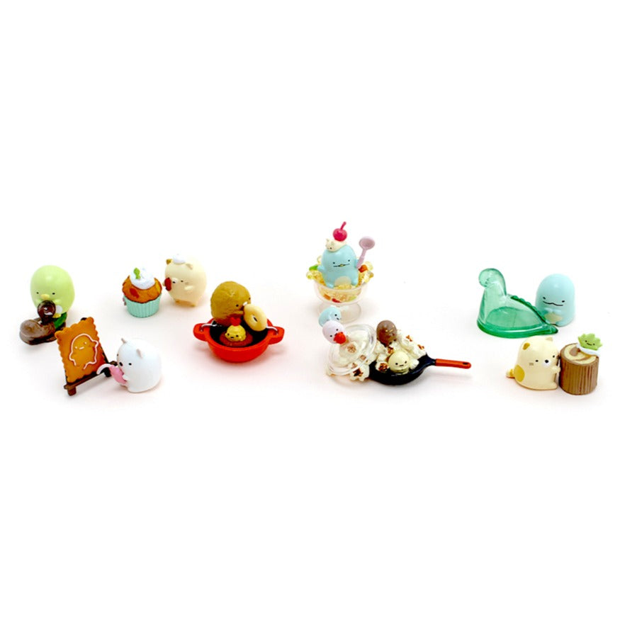 Japanese Re-Ment Sumikko Gurashi Homemade Sweets Blind Box series all available characters