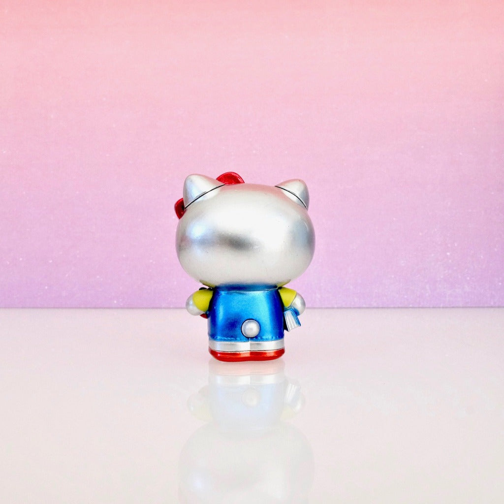 unboxed Classic Hello Kitty Metalfig back view