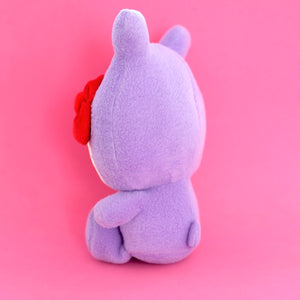 UGLYDOLL x Hello Kitty Trunko Plushie (Purple) (back view)