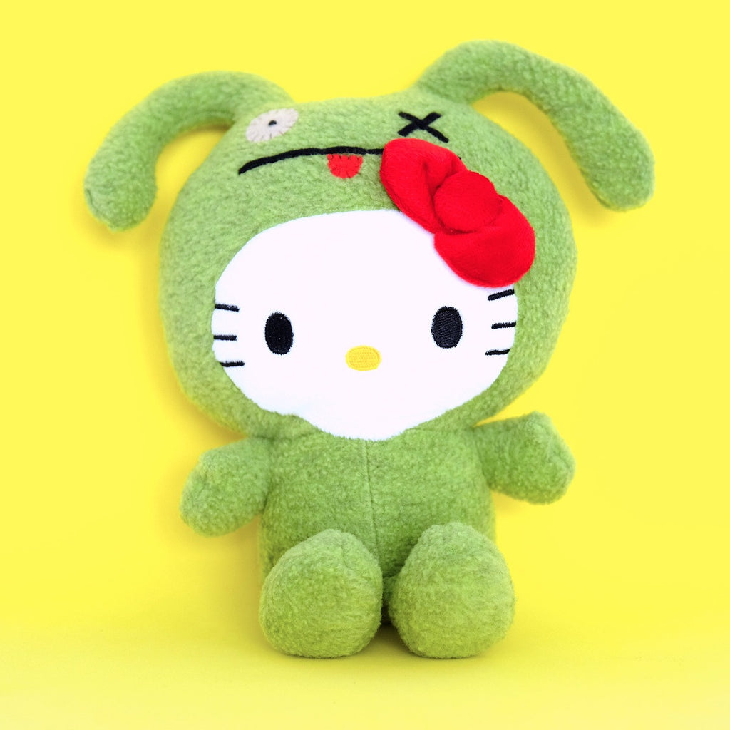 UGLYDOLL x Hello Kitty Ox Plushie (Green)