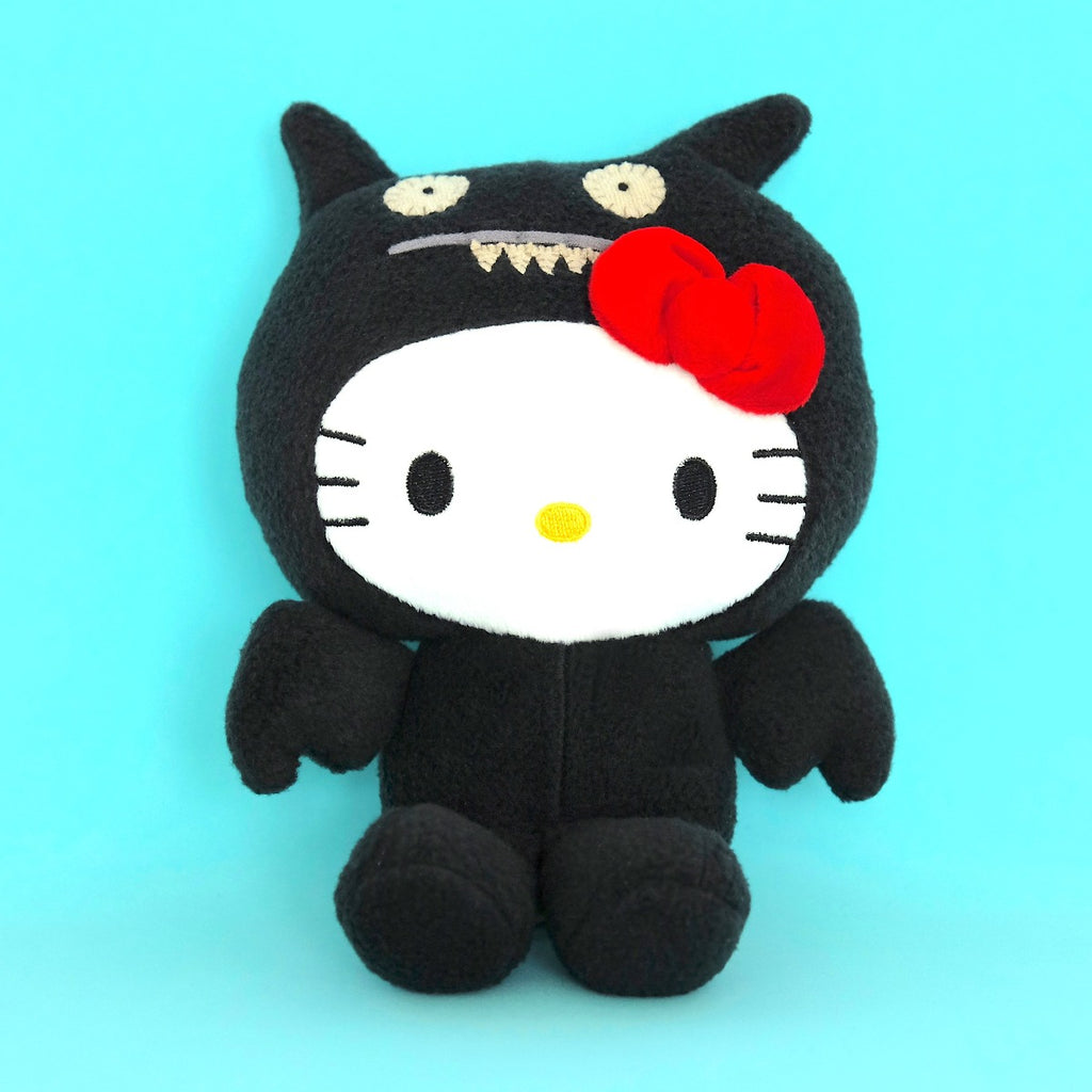 UGLYDOLL x Hello Kitty Ice-bat Plushie (Black)