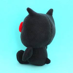 UGLYDOLL x Hello Kitty Ice-bat Plushie (Black) (back view)