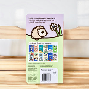 Cute Children Books | Simply Small Series by Paola Opal: Emma back cover