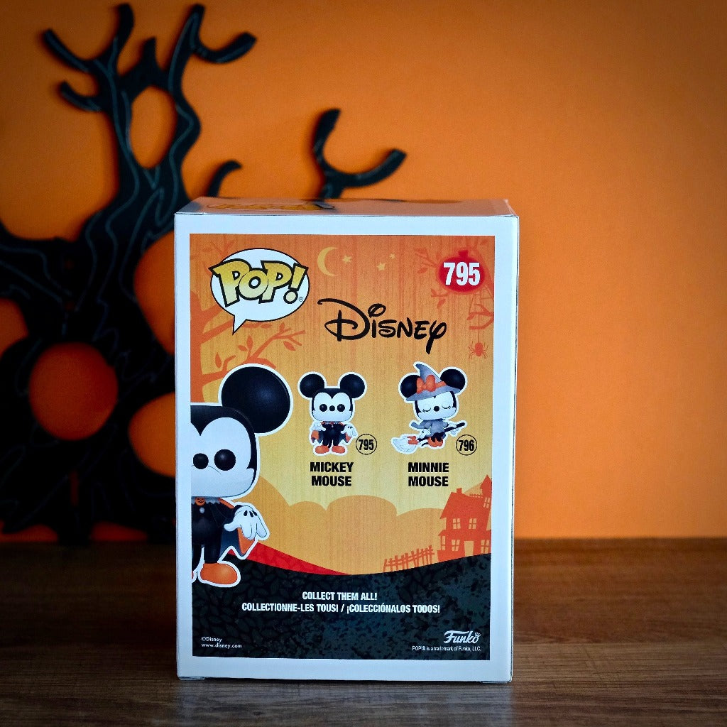 Funko POP! Disney Spooky Mickey Mouse back package view