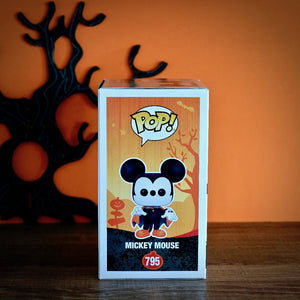 Funko POP! Disney Spooky Mickey Mouse right side package view