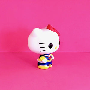 Funko POP! Sanrio Hello Kitty & Friends x My Hero Academia Hello Kitty as All Might Collectible Vinyl Figure right view