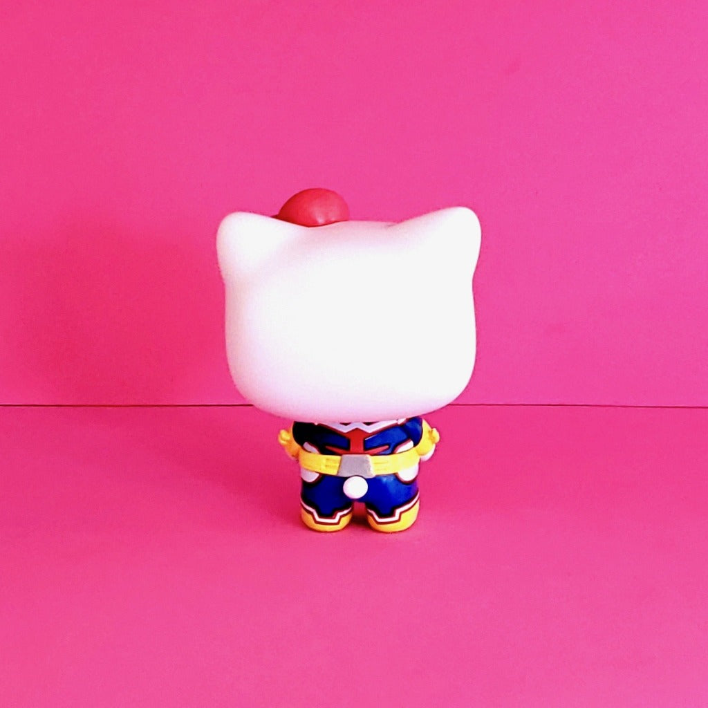 Funko POP! My Hero Academia Sanrio Hello Kitty All Might 791 back view