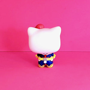 Funko POP! Sanrio Hello Kitty & Friends x My Hero Academia Hello Kitty as All Might Collectible Vinyl Figure back view