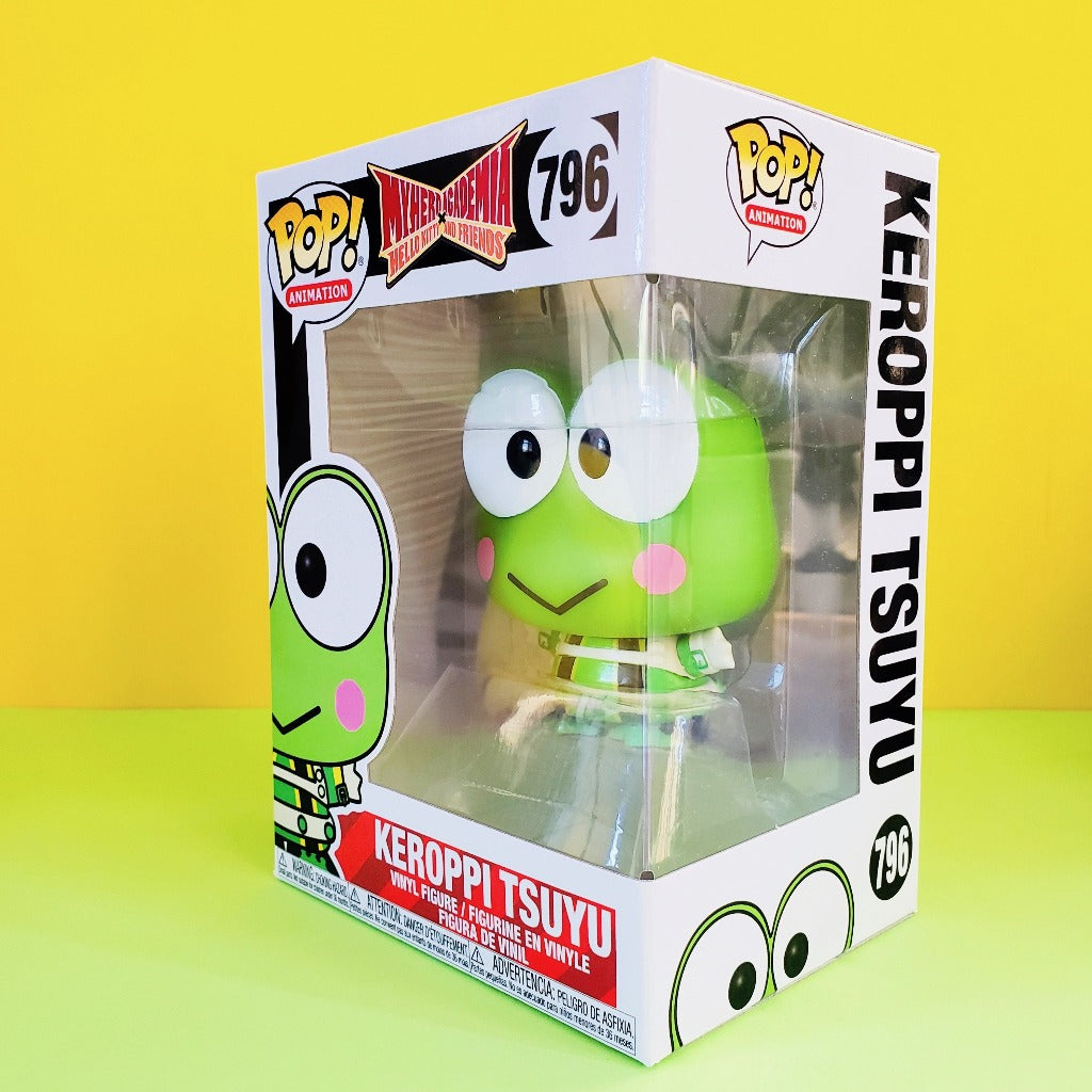 Funko POP! My Hero Academia Keroppi Tsuyu box front-left view
