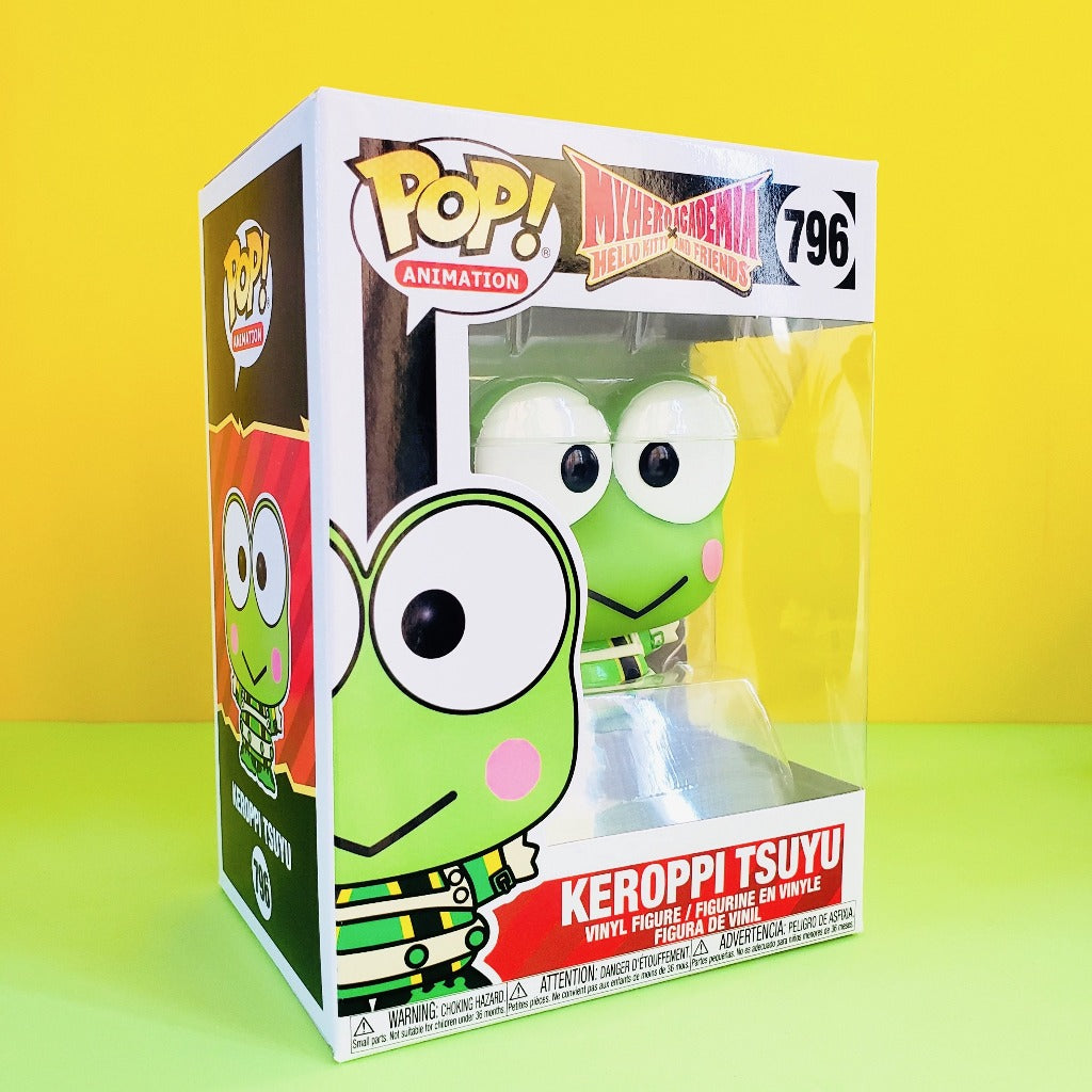 Funko POP! My Hero Academia Keroppi Tsuyu box front-right