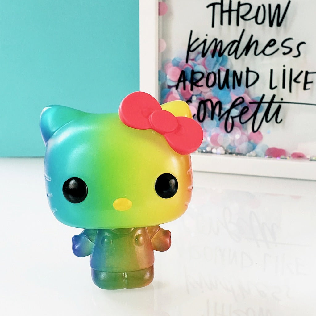 Funko Pride POP! Hello Kitty 28 vinyl figure front view