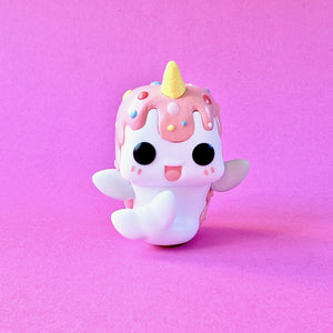 Funko Tasty Peach Studios Vanilla Berry Nomwhal front view