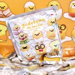 Sanrio Gudetama the Lazy Egg vinyl figural bag clip blind bag package