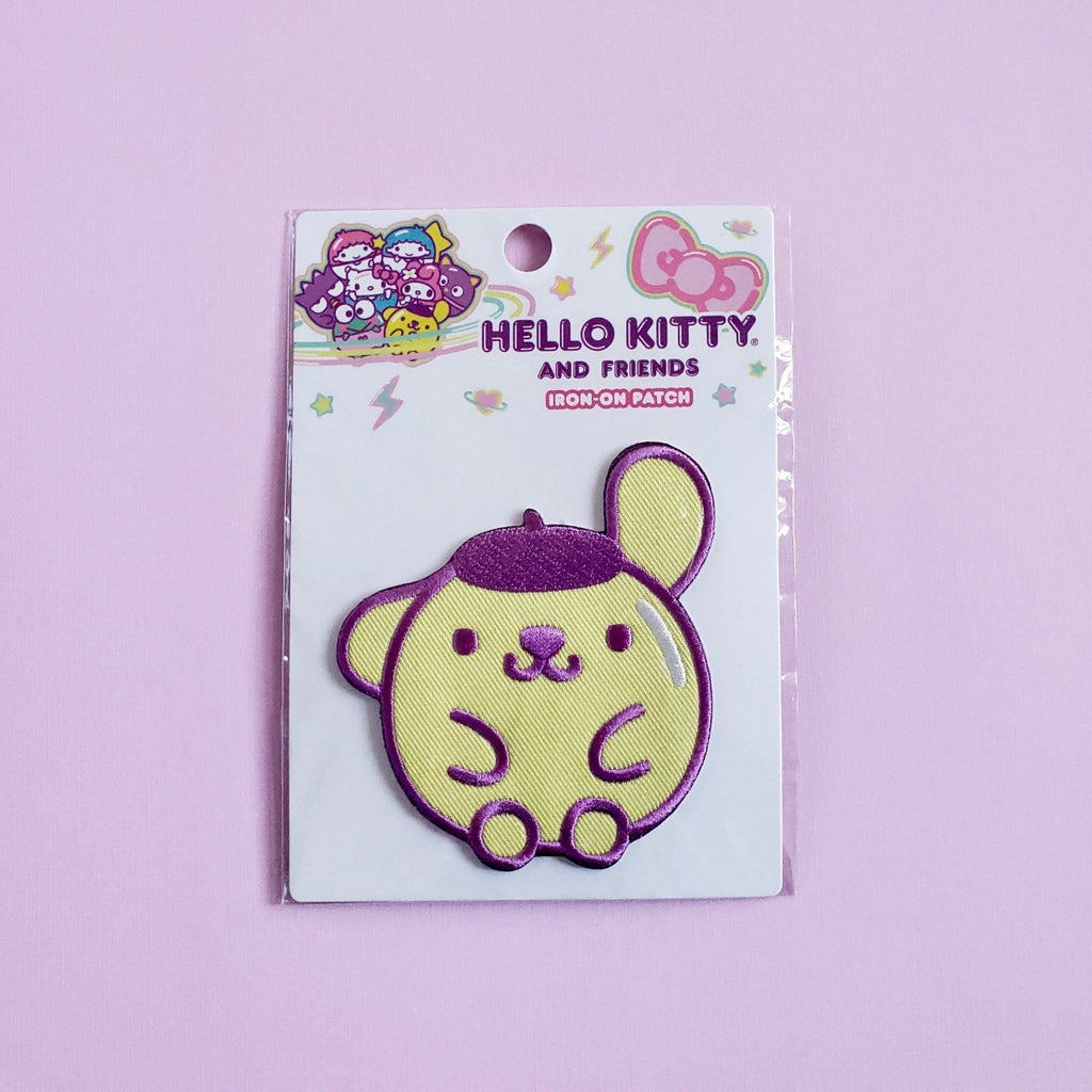 Loungefly Pompompurin Iron-On Patch front view