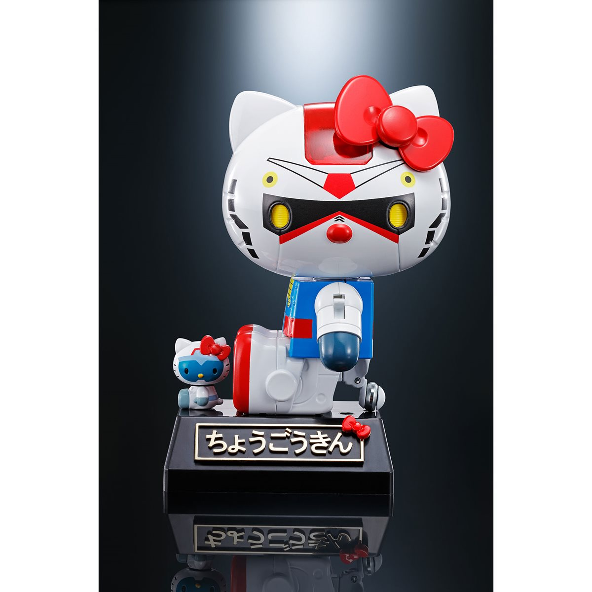 completed Chogokin Hello Kitty sitting down