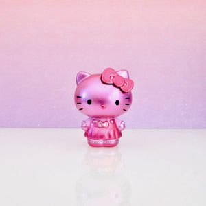 front view of unboxed pink Hello Kitty Metalfigs