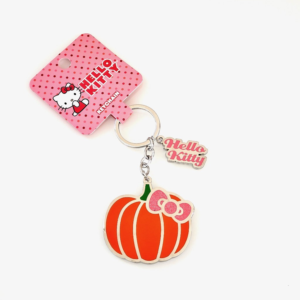 Loungefly Hello Kitty Pumpkin Spice Keychain