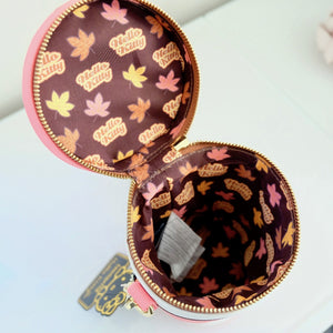 Loungefly Hello Kitty Pumpkin Spice Cup bag interior