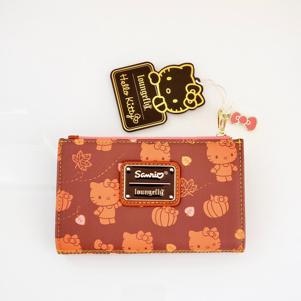 Loungefly Hello Kitty Pumpkin Spice Wallet front