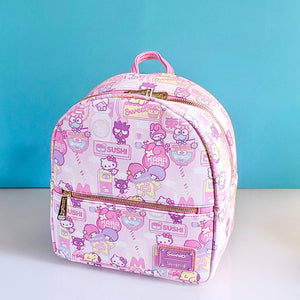Loungefly Hello Kitty & Friends Kawaii Mini Backpack front view