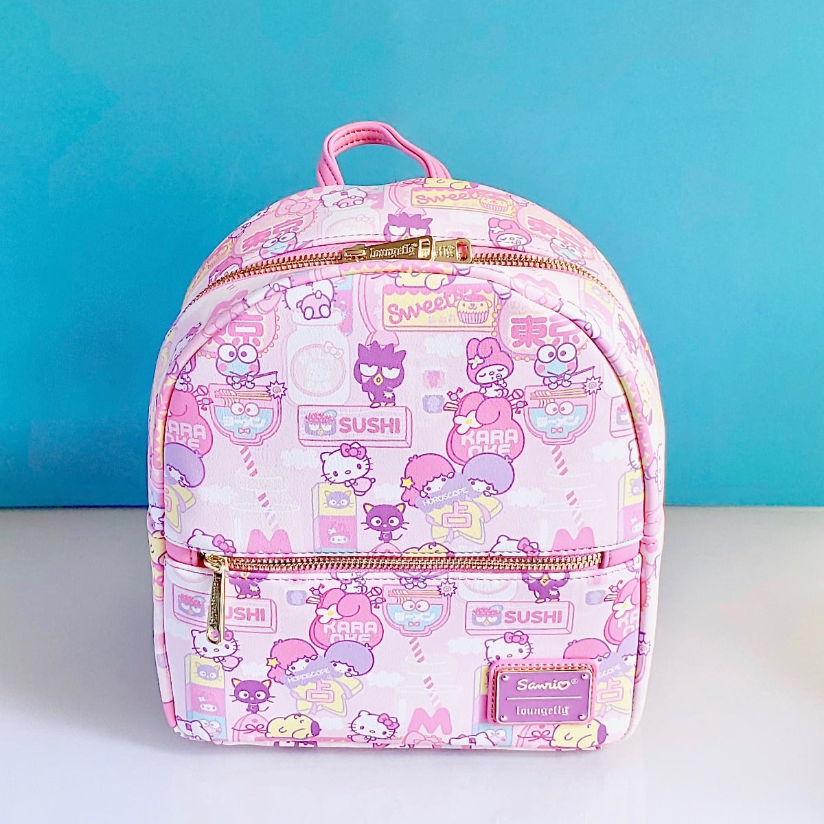 Loungefly Hello Kitty & Friends Kawaii Mini Backpack front