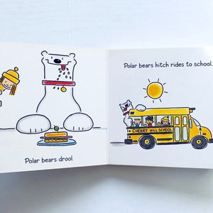 My Pet Polar Bear inside pages