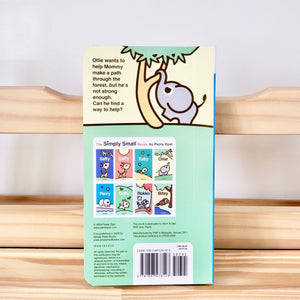 Cute Children Books | Simply Small Series by Paola Opal: Ollie back cover