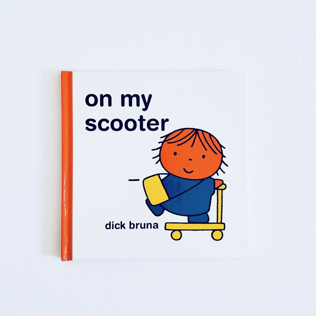 Dick Bruna On My Scooter front cover