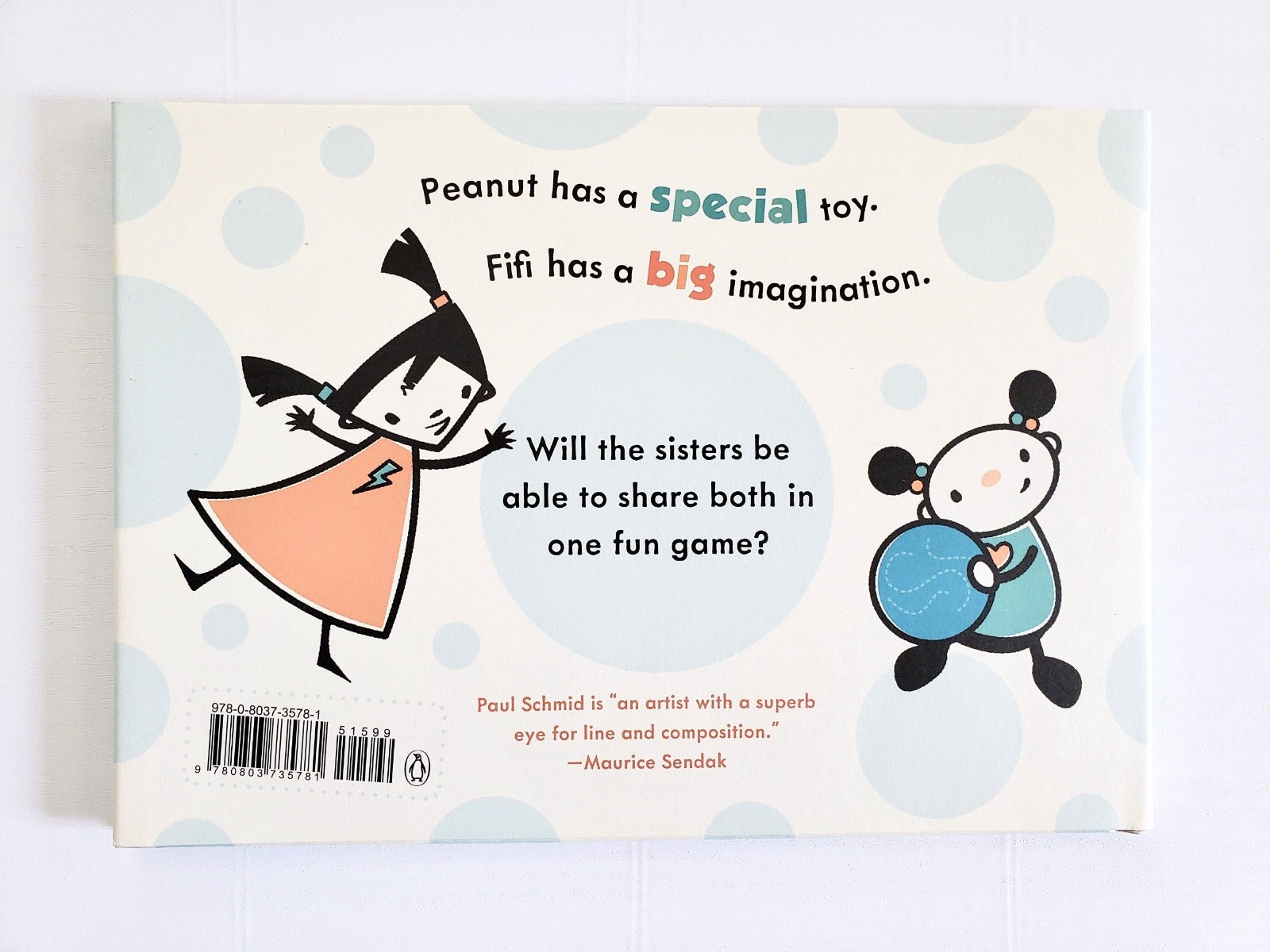 Peanut & Fifi Have A Ball back cover
