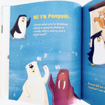 Penguin and the Cupcake inside pages