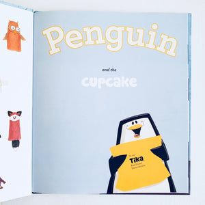 Penguin and the Cupcake inside cover