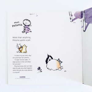 A Pet for Petunia inside cover