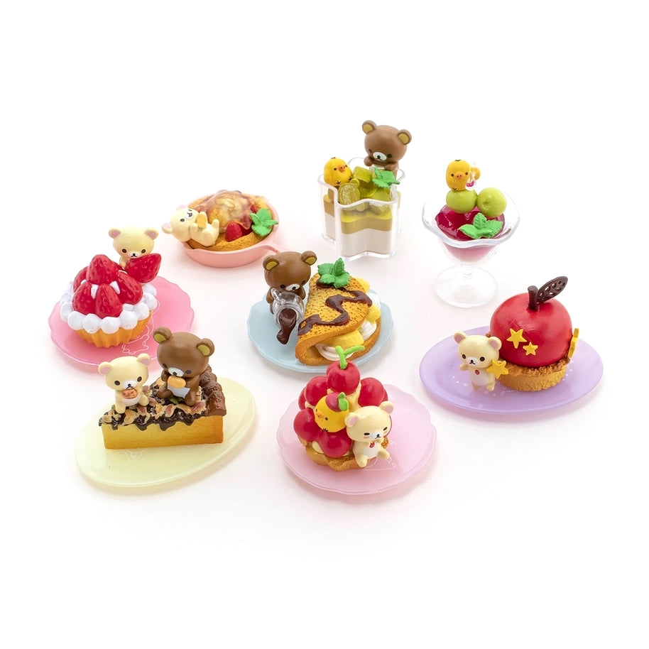 Re-Ment Korilakkuma Sweets in Dream series collection