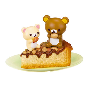 Re-Ment Korilakkuma Sweets in Dream series Rilakkuma and Korilakkuma on a slice of pie